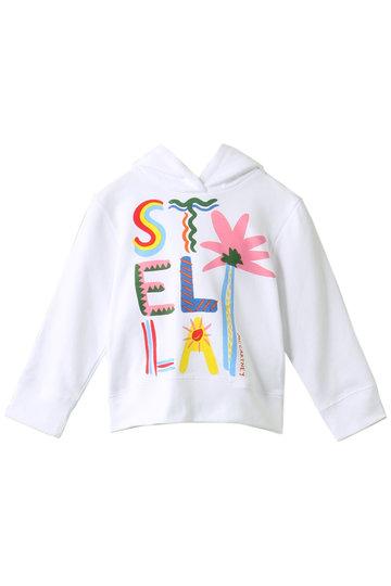 SALE 【50%OFF】 STELLA McCARTNEY ステラ マッカートニー 【Kids】コットンフーディー ホワイト