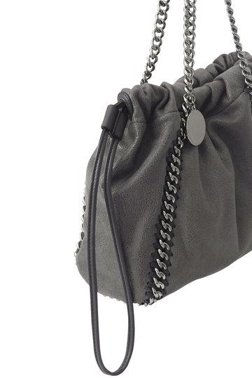 ステラ マッカートニー/STELLA McCARTNEYのFalabella 巾着ショルダーバッグ(グレー/570158W8187)