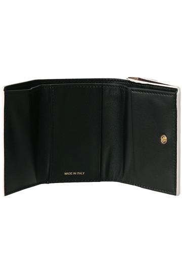 マルニ/MARNIのTRUNK 3つ折り財布(ブラウン/ベージュ/ピンク/PFMOW02U09 LV520)
