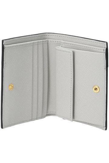 マルニ/MARNIのVANITOSI 2つ折り財布(ベージュ×グレー×イエロー/PFMOQ14U13 LV520)