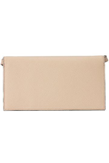 マルニ/MARNIのTRUNK ポシェット型 財布(ベージュ×グレー×イエロー/PFMOT08U13 LV520)