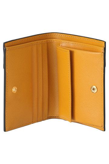 マルニ/MARNIの【ELLE SHOP 10周年限定】VANITOSI 2つ折り財布(ダークブラウン×ベージュ×マスタード/PFMOQ14U13 LV520)