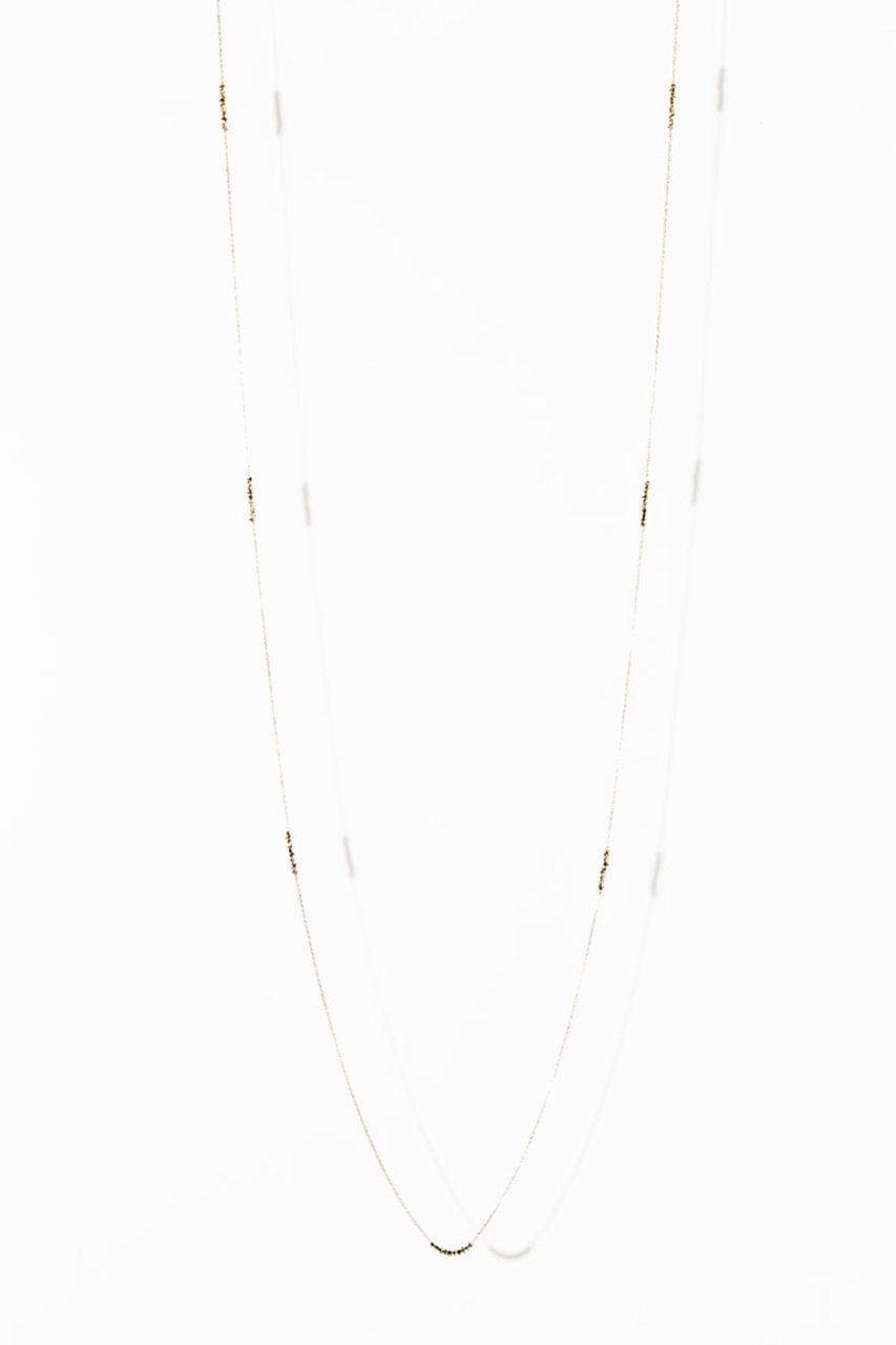 マリハ/MARIHAの【受注生産】時の砂ネックレス(80cm)(ゴールド/1102230550199)