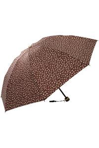 <ELLE SHOP> Kiwanda キワンダ PETITE FLOWER 折りたたみ傘(晴雨兼用) マロン画像