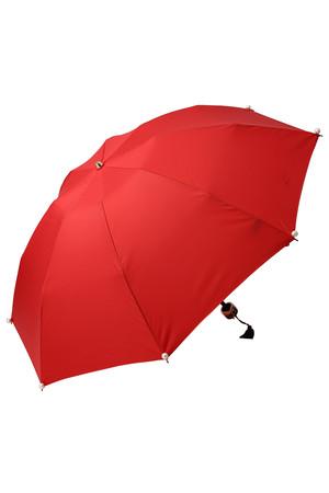 Marilyn パール付き折り畳み晴雨兼用傘 キワンダ/Kiwanda
