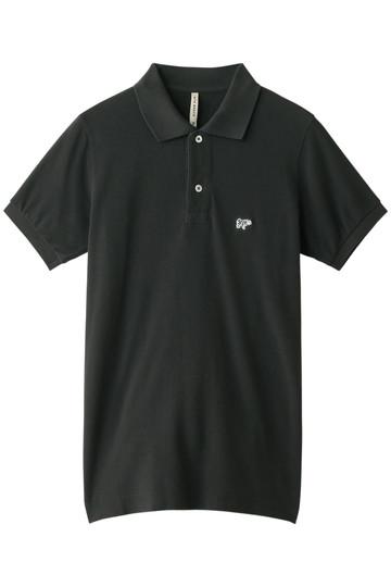 【SCYE BASICS】40/1鹿の子ポロシャツ チャコール