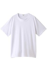 20%OFF!<ELLE SHOP>メンズ(MENS)オーガニック度詰天竺レイヤードクルーネックTシャツ オフシロ画像