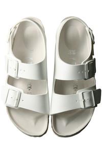<ELLE SHOP>MILANO サンダル ホワイト画像