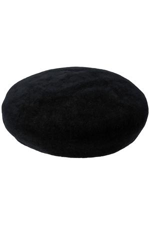 カシミア混ベレー帽 クール ファム/coeur femme