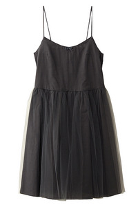 <ELLE SHOP> Bilitis dix-sept ans ビリティス・ディセッタン チュチュキャミドレス(90cm) グレー画像