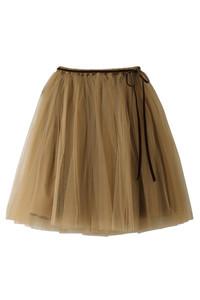 <ELLE SHOP> Bilitis dix-sept ans ビリティス・ディセッタン バレリーナスカート(60cm) キャメル画像