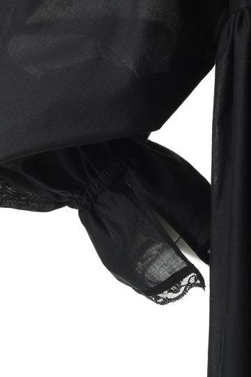 ビリティス・ディセッタン/Bilitis dix-sept ansの【予約販売】コットンフリルドレス(ブラック/2913-604)