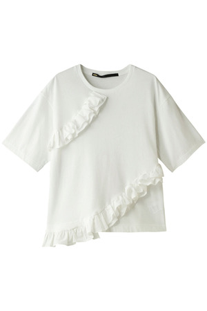 フリルTシャツ ミュラー オブ ヨシオクボ/muller of yoshiokubo