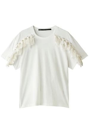 フリンジTシャツ ミュラー オブ ヨシオクボ/muller of yoshiokubo