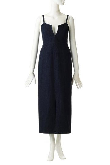 ミュラー オブ ヨシオクボ/muller of yoshiokuboのキャミトップスドレス(デニム/MLS19608-P)