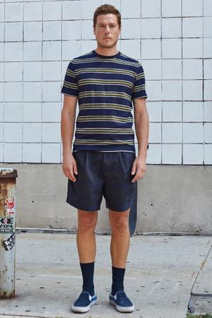 【MEN】ボーダーTシャツ デミリー/DEMYLEE