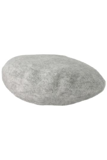 SALE 【50%OFF】 [DEMYLEE デミリー] モヘアニットベレー帽 ライトグレー
