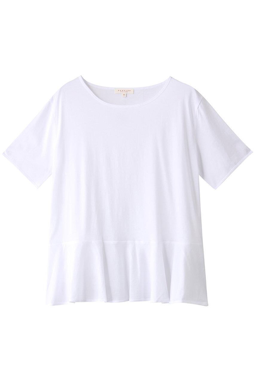 デミリー/DEMYLEEのMARIE ジャージーピマコットン ペプラムTシャツ(ホワイト/3310900154)
