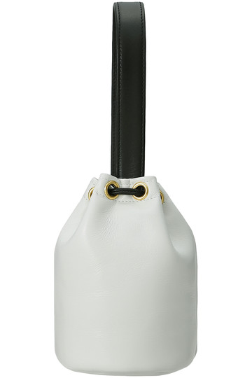 ラドロー/LUDLOWのリボンミニバッグ(ホワイト/LD-1909)
