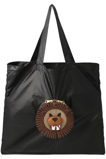LUDLOW ラドロー 【予約販売】ハッピーアニマルパッカブルトートバッグ ライオン