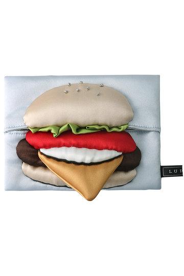 LUDLOW ラドロー 【予約販売】ハンバーガーティッシュケース ブルー
