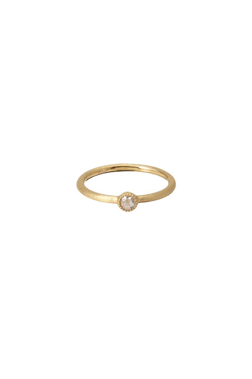 マルティニーク/martiniqueの【La Soeur】別注ダイヤモンドリング(ゴールド/A0317PAC960)