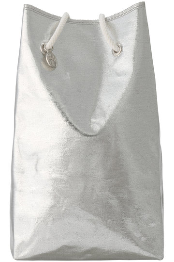 マルティニーク/martiniqueの【LAVENTURE martinique】巾着バッグ(シルバー/A0396PBG973)