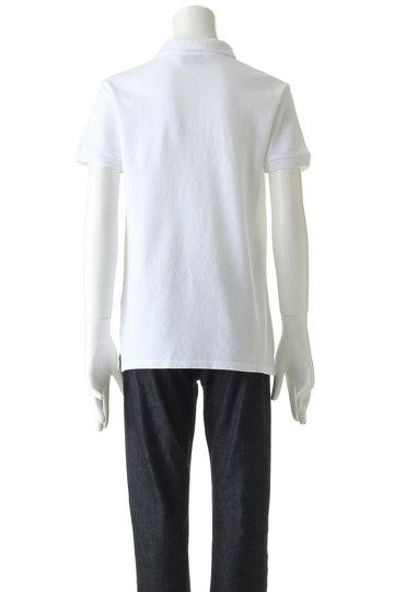 マルティニーク/martiniqueの【MEN】【MAISON KITSUNE】刺繍ポロシャツ(ホワイト/A1097UPS214)