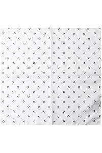 <ELLE SHOP>メンズ(MENS)シルクハンカチ ホワイト画像