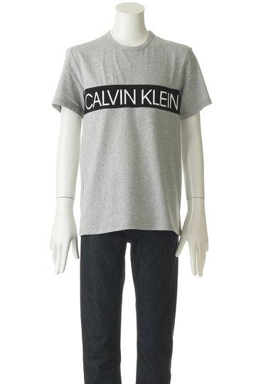マルティニーク/martiniqueの【MEN】【CALVIN KLEIN】ロゴラインカットソー(グレー/A1097UTS228)