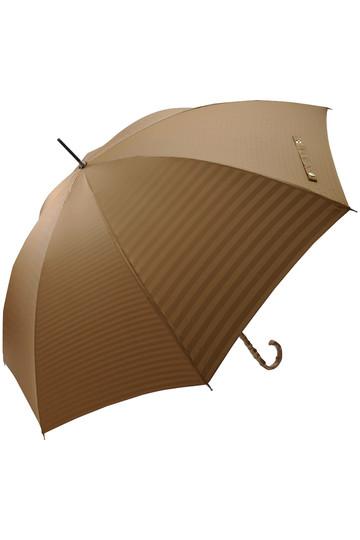 マッキントッシュ フィロソフィー/MACKINTOSH PHILOSOPHYの晴雨兼用裏ボーダーMP長傘(ベージュ/4548923222421)