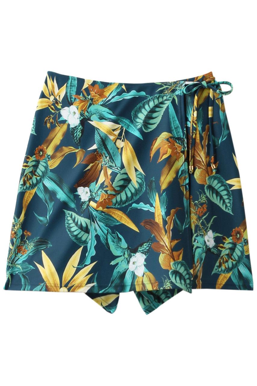 レイール(ミズギ)/Reir(水着)の【Coral veil】Lily Gardenショートボトム(グリーン/55-58-0-8271)