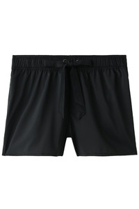 <ELLE SHOP>【Coral veil】PU混ポリエステルショートパンツ ブラック