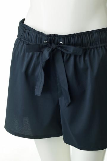 レイール(ミズギ)/Reir(水着)の【Coral veil】PU混ポリエステルショートパンツ(ブラック/55-58-8-8700)