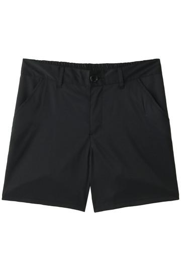 Reir(水着) レイール(ミズギ) 【Coral veil】PU混ポリエステルハーフパンツ ブラック