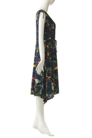 レイール(ミズギ)/Reir(水着)の【Coral veil】Botanical Garden ショルダードレス3点セット(ネイビー/55-58-9-8215)