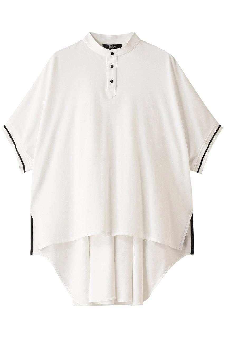 ザ・リラクス/THE RERACSの【予約販売】コットンノーカラーポロシャツ(ホワイト/20SS-RECS-253L-J)