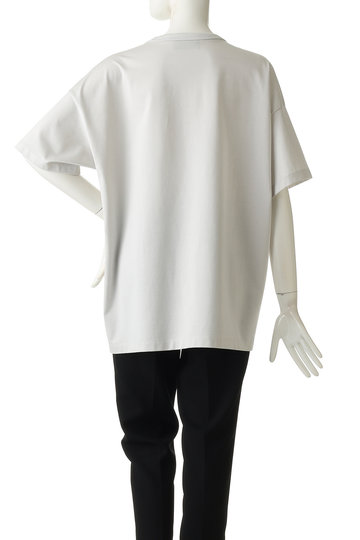 ザ・リラクス/THE RERACSの【UNISEX】エンブレム刺繍ポケットTシャツ(ホワイト/19SS-RECS-216-J)