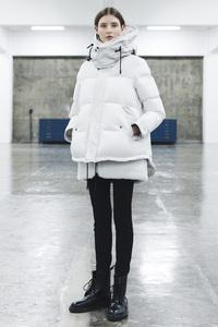 <ELLE SHOP>【予約販売】ダウンジャケット ホワイト画像