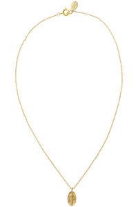 <ELLE SHOP> chibi jewels チビ・ジュエルズ Coin Cross ネックレス ゴールド画像
