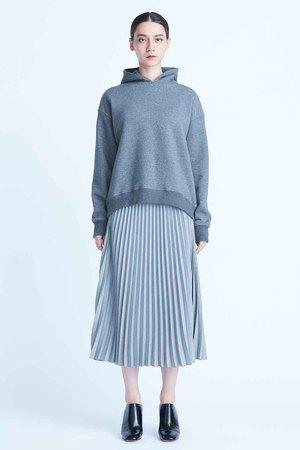 エブリーシャンブレープリーツスカート フローレント/FLORENT