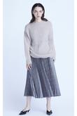 グレンチェックプリーツスカート フローレント/FLORENT