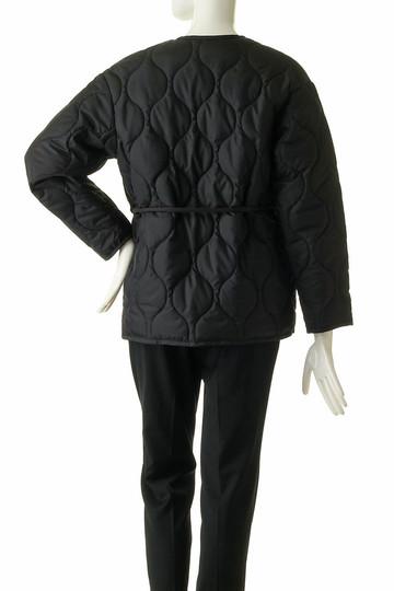 フローレント/FLORENTのキルティングラップジャケット(ブラック/1805F02002)