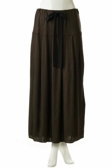 フローレント/FLORENTのウールフライスジャージースカート(ブラウン/1805F06014)