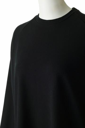 フローレント/FLORENTのレーヨンストレッチポンチ起毛ジャージートップ(ブラック/1805F06015)