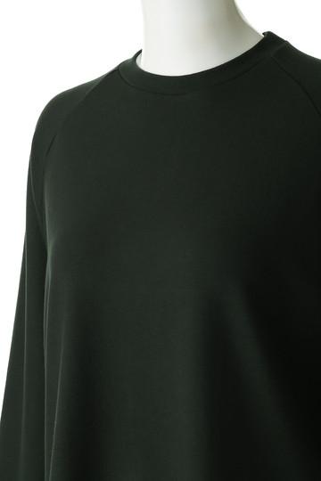 フローレント/FLORENTのレーヨンストレッチポンチ起毛ジャージートップ(ダークグリーン/1805F06015)