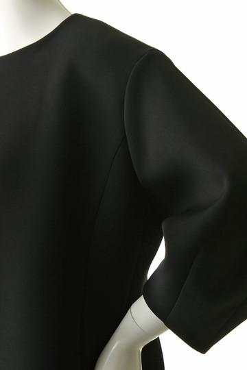 フローレント/FLORENTのマカロンエアクロスノーカラーコート(ブラック/1805F08003)