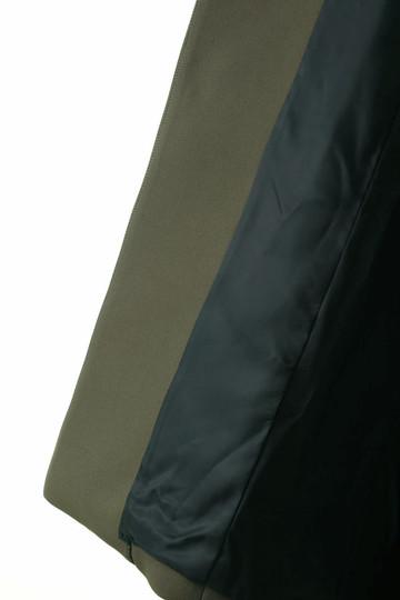 フローレント/FLORENTのマカロンエアクロスノーカラーコート(カーキ/1805F08003)
