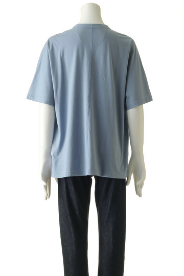 【MEN】ロゴ刺繍ビッグTシャツ ホワイトマウンテニアリング/White Mountaineering