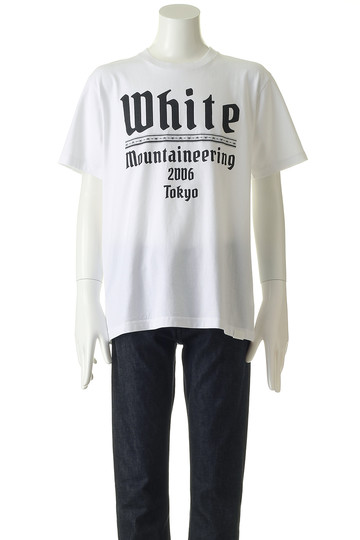 【MEN】WHITE MOUNTAINEERING2006TOKYO Tシャツ ホワイトマウンテニアリング/White Mountaineering